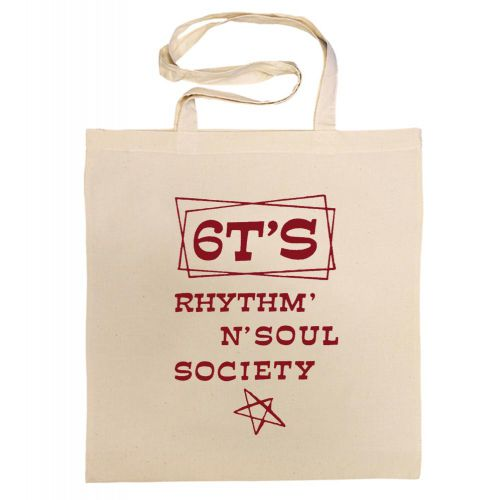 6T's Rhythm 'n' Soul Society Cotton Bag Cardinal Red [11]