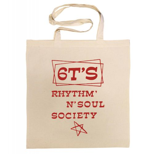 6T's Rhythm 'n' Soul Society Cotton Bag Red [40]