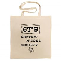 6T's Rhythm 'n' Soul Society Cotton Bag