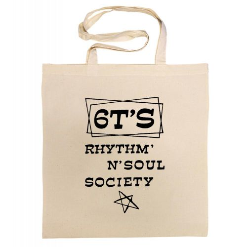 6T's Rhythm 'n' Soul Society Cotton Bag Black [36]