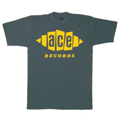Ace Records T Shirt Charcoal Grey [42]