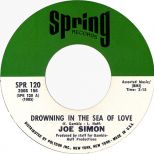 Drowning In The Sea Of Love by Joe Simon single label