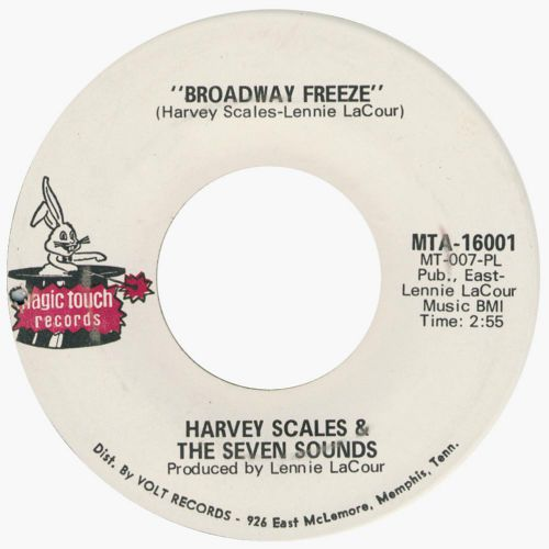 Harvey Scales & The Seven Sounds 'Broadway Freeze'
