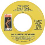 The Drier (part 1) (vocal) by Roy Lee Johnson & The Villagers single label