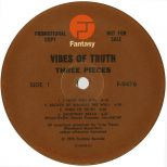Vibes of Truth by Three Pieces LP label side 1