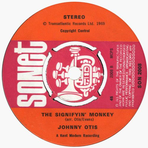 The Signifyin' Monkey by Johnny Otis