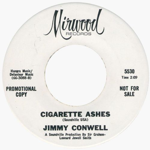 Cigarette Ashes by Jimmy Conwell