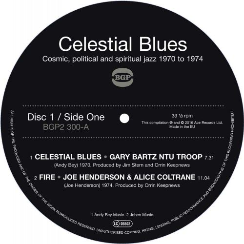 Celestial Blues side 1