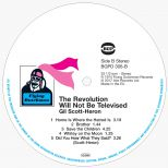 """The Revolution Will Not Be Televised"" LP Label"