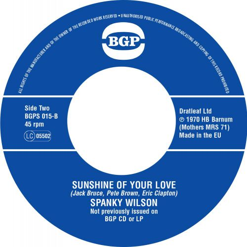 Spanky Wilson Sunshine Of Your Love