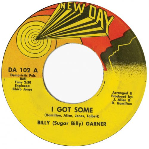 Billy Garner 'I Got Some'