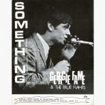 Georgie Fame 'Something' song sheet courtesy of Roger Stewart