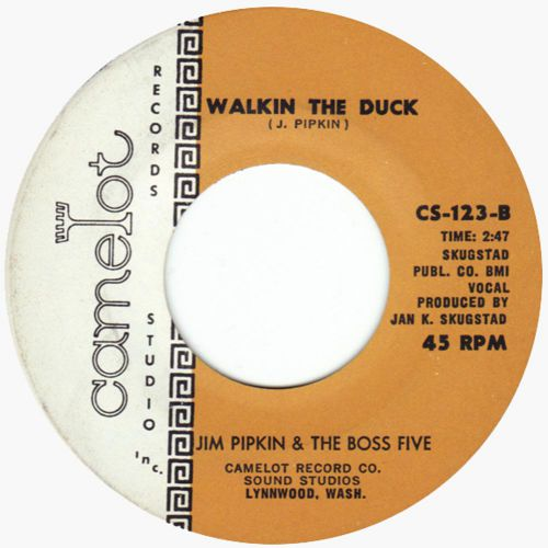 Jim Pipkin & The Boss Five 'Walkin' The Duck' courtesy of Dean Rudland