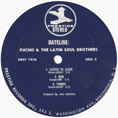 Pucho and the Latin Soul Brothers 'Dateline' courtesy Jazzman Gerald