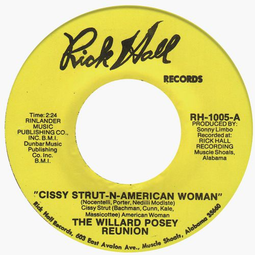 The Willard Posey Reunion 'Cissy Strut-n-American Woman'