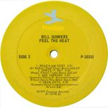 Feel The Heat LP label courtesy of Dean Rudland