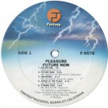 Future Now LP label side 1
