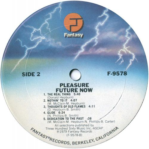 Future Now LP label side 2