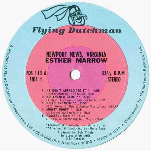 Newport News, Virginia LP label