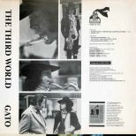 Gato Barbieri 'The Third World' LP back cover