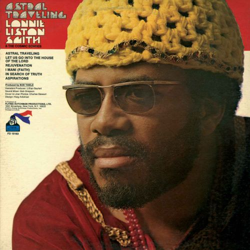 Lonnie Liston Smith 'Astral Traveling' LP cover