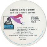 Lonnie Liston Smith 'Astral Traveling' LP label side 1