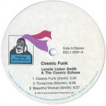 Cosmic Funk LP label side 1