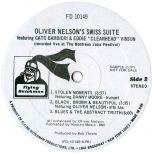 Swiss Suite LP label side 2