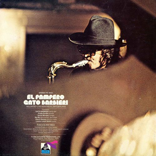 El Pampero LP back cover