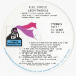 Full Circle LP label side 1