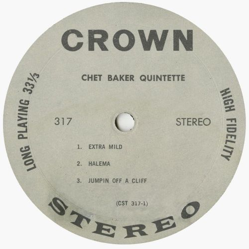 Chet Baker Quintette