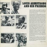 Louis Armstrong And His Friends LP