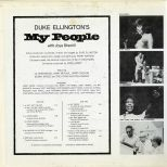 Duke Ellington's My People LP inner cover 1