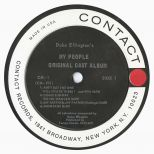 Duke Ellington's My People LP label side 1
