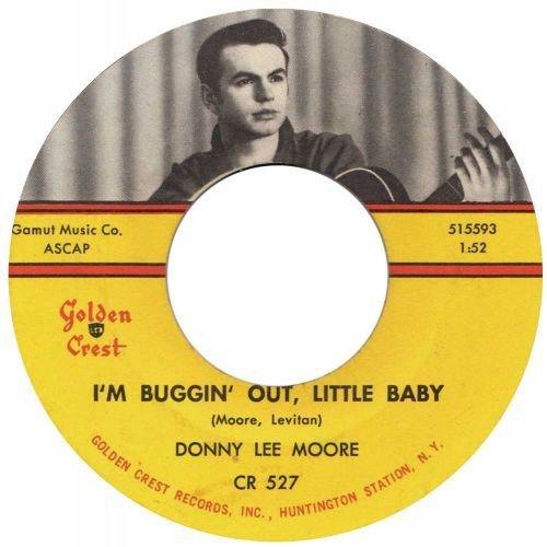 Donny Lee Moore 'I'm Buggin' Out, Little Baby' courtesy of John Broven