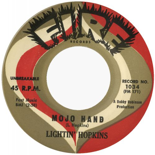 Lightnin' Hopkins 'Mojo Hand' courtesy of Roger Armstrong