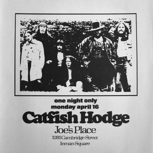Catfish Hodge flyer