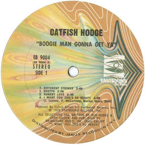Catfish Hodge 'Boogie Man'