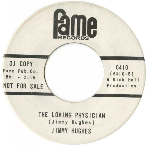 Jimmy Hughes 'The Loving Physician'