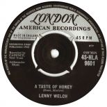 Lenny Welch 'A Taste Of Honey' courtesy of Tony Rounce