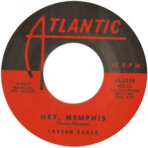 LaVern Baker 'Hey Memphis' courtesy of Mick Patrick