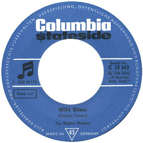 The Rhythm Masters 'Wild Kitten' courtesy of Tony Rounce