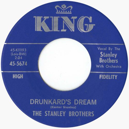 The Stanley Brothers 'Drunkard's Dream' courtesy of Tony Rounce