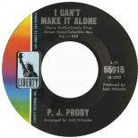 P J Proby 'I Can't Make It Alone' courtesy of Mick Patrick