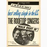 The Rooftop Singers 'Walk Right In' advert