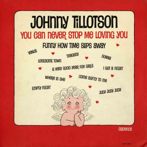 Johnny Tillotson 'You Can Never Stop Me Loving You'