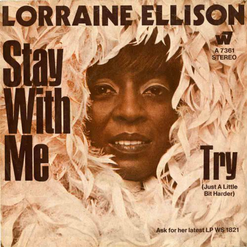 Lorraine Ellison 'Stay With Me' courtesy of Rob Finnis