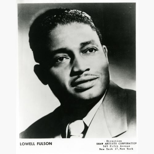 Lowell Fulson courtesy of Tina Mayfield