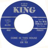 Joe Tex 'Come In This House' courtesy of Victor Pearlin