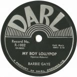 Barbie Gaye 'My Boy Lollipop' courtesy of Tony Rounce
